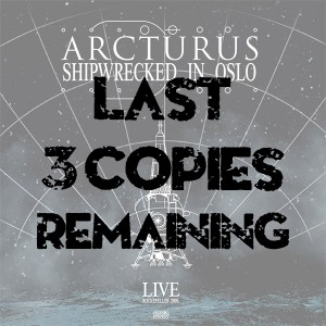 "Arcturus ""Shipwrecked in Oslo"" CD"