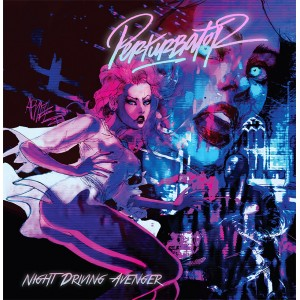 "Perturbator ""Night Driving Avenger"" CD"