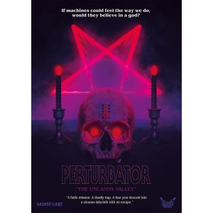 "Perturbator ""The Uncanny Valley"" Poster"
