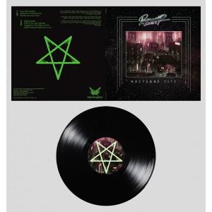 """Perturbator """"Nocturne City"""" BLACK LP"""