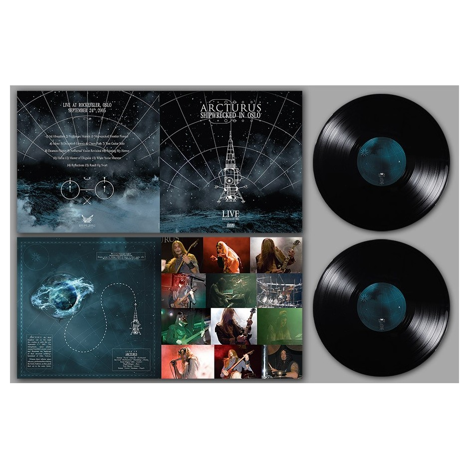 "Arcturus ""Shipwrecked in Oslo"" 2xLP - Black"