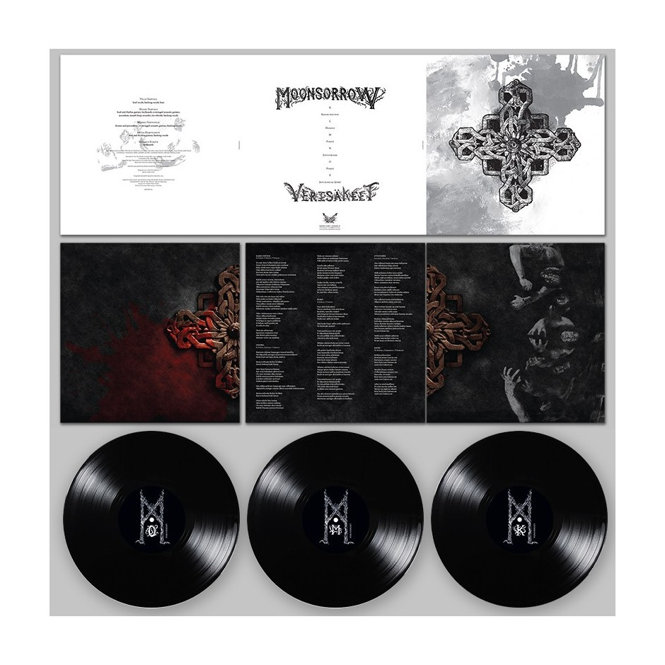 "Moonsorrow ""Verisäkeet"" 3xLP - Black, First Pressing"