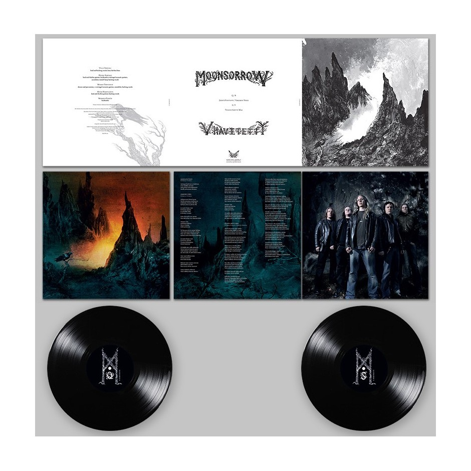 "Moonsorrow ""V: Hävitetty"" 2xLP - Black, First Pressing"