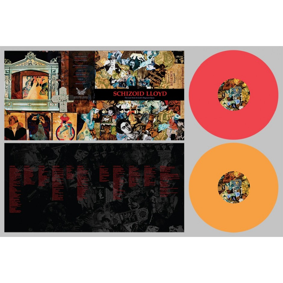 """Schizoid Lloyd """"The Last Note in God's Magnum Opus"""" COLOR 2xLP"""