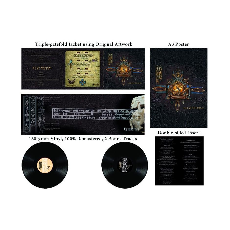"Lykathea Aflame ""Elvenefris"" Special Edition Black LP"