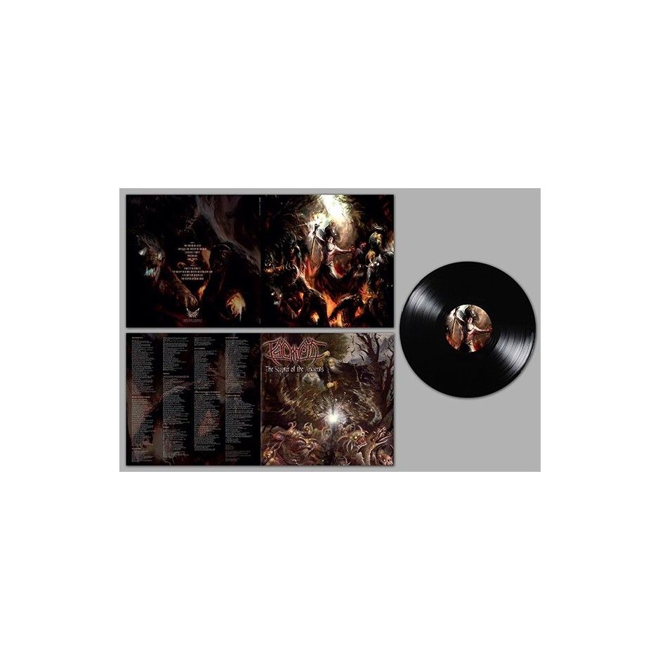 "Psycroptic ""The Scepter of the Ancients"" LP - Black"