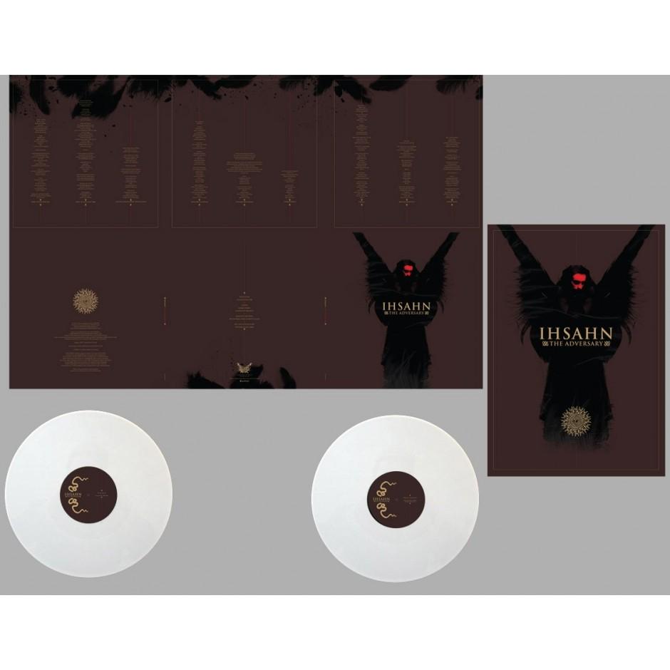 "Ihsahn ""The Adversary"" Deluxe Edition White LP"