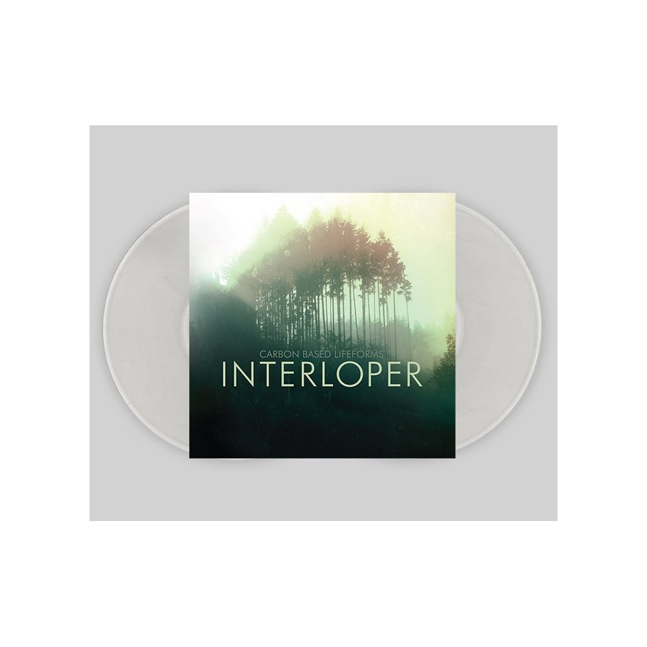 "Carbon Based Lifeforms ""Interloper"" CLEAR 2xLP"