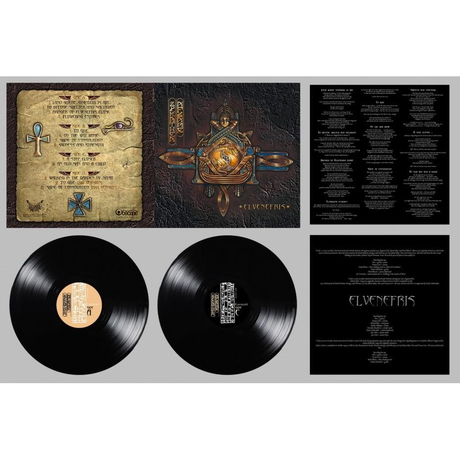 """Lykathea Aflame """"Elvenefris"""" BLACK LP"""