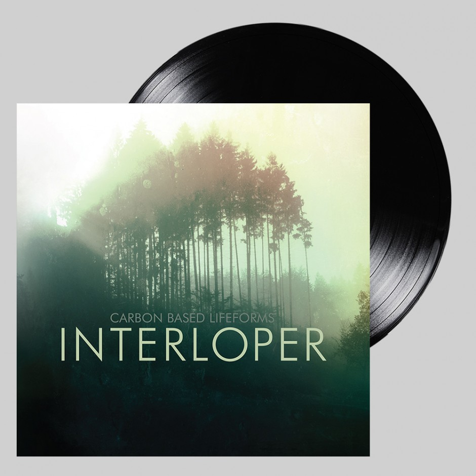 "Carbon Based Lifeforms ""Interloper"" 2xLP REPRESS"