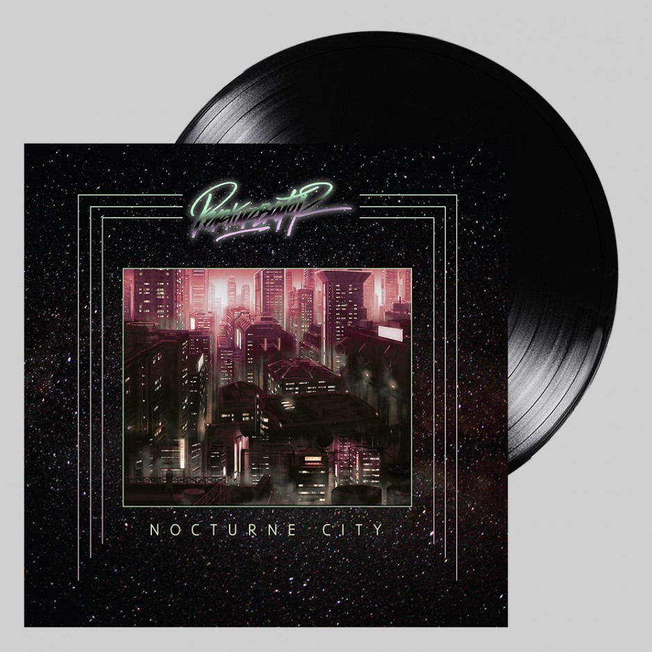 "Perturbator ""Nocturne City"" BLACK LP"