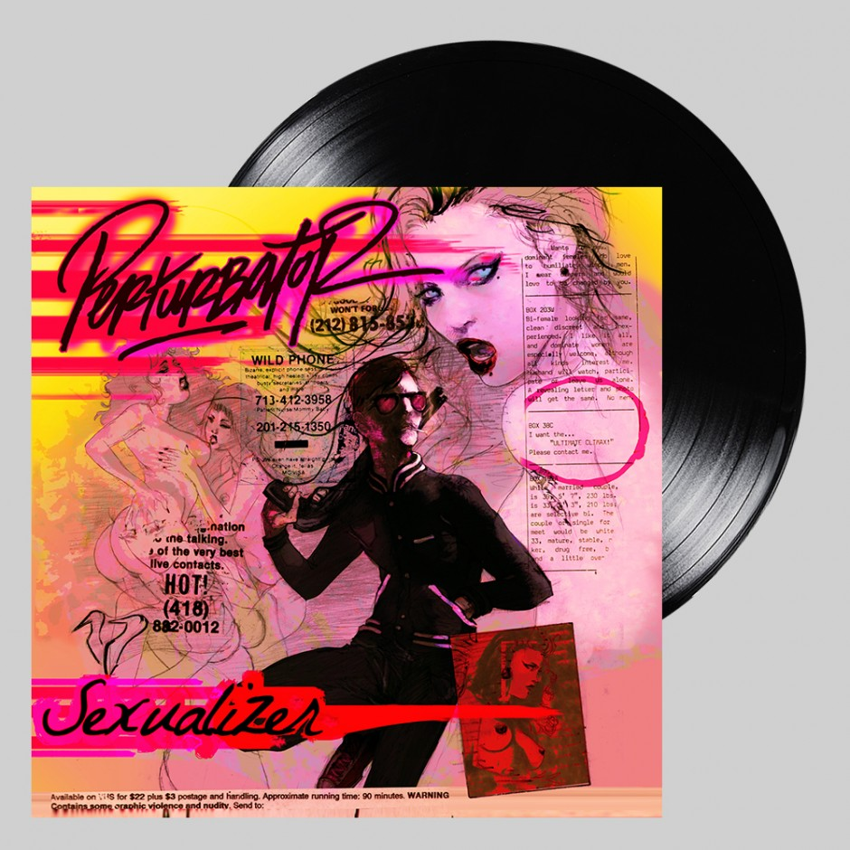 "Perturbator ""Sexualizer"" BLACK LP"