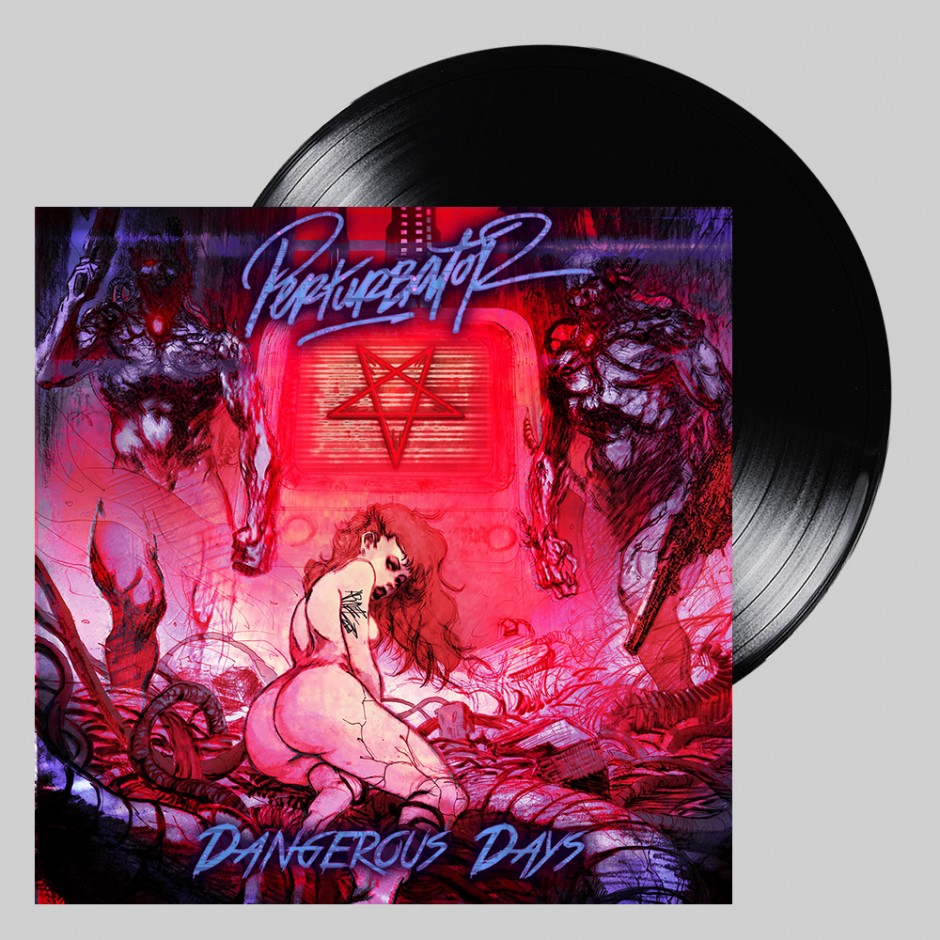 "Perturbator ""Dangerous Days"" BLACK 2xLP"