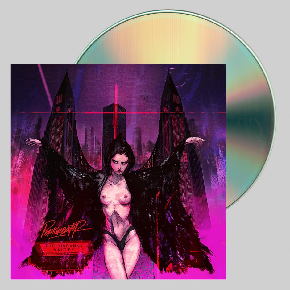 "Perturbator ""The Uncanny Valley"" CD"