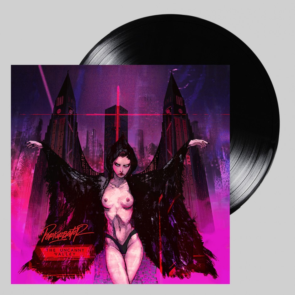 "Perturbator ""The Uncanny Valley"" PURPLE 2xLP"