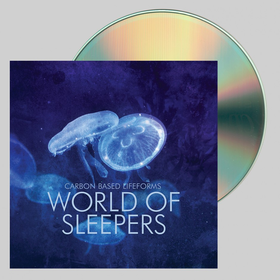 """Carbon Based Lifeforms """"World of Sleepers"""" CD"""