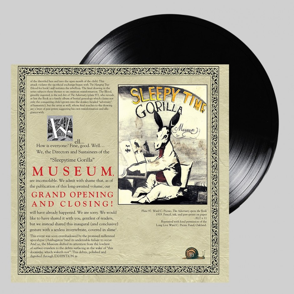 "Sleepytime Gorilla Museum ""Grand Opening and Closing"" 2xLP REPRESS"