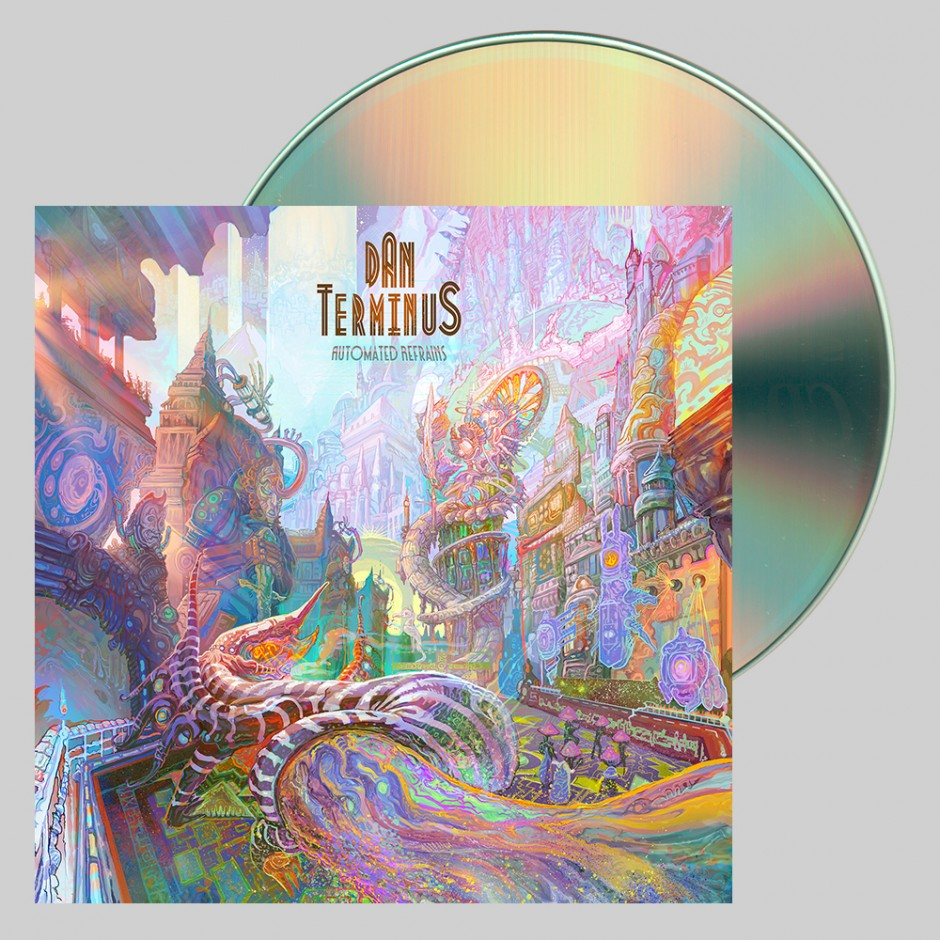 "Dan Terminus ""Automated Refrains"" CD"