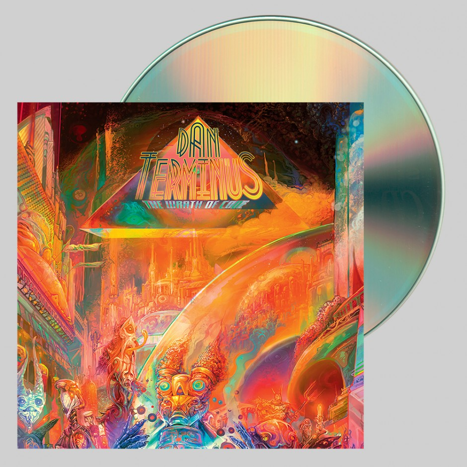 """Dan Terminus """"The Wrath of Code"""" CD"""