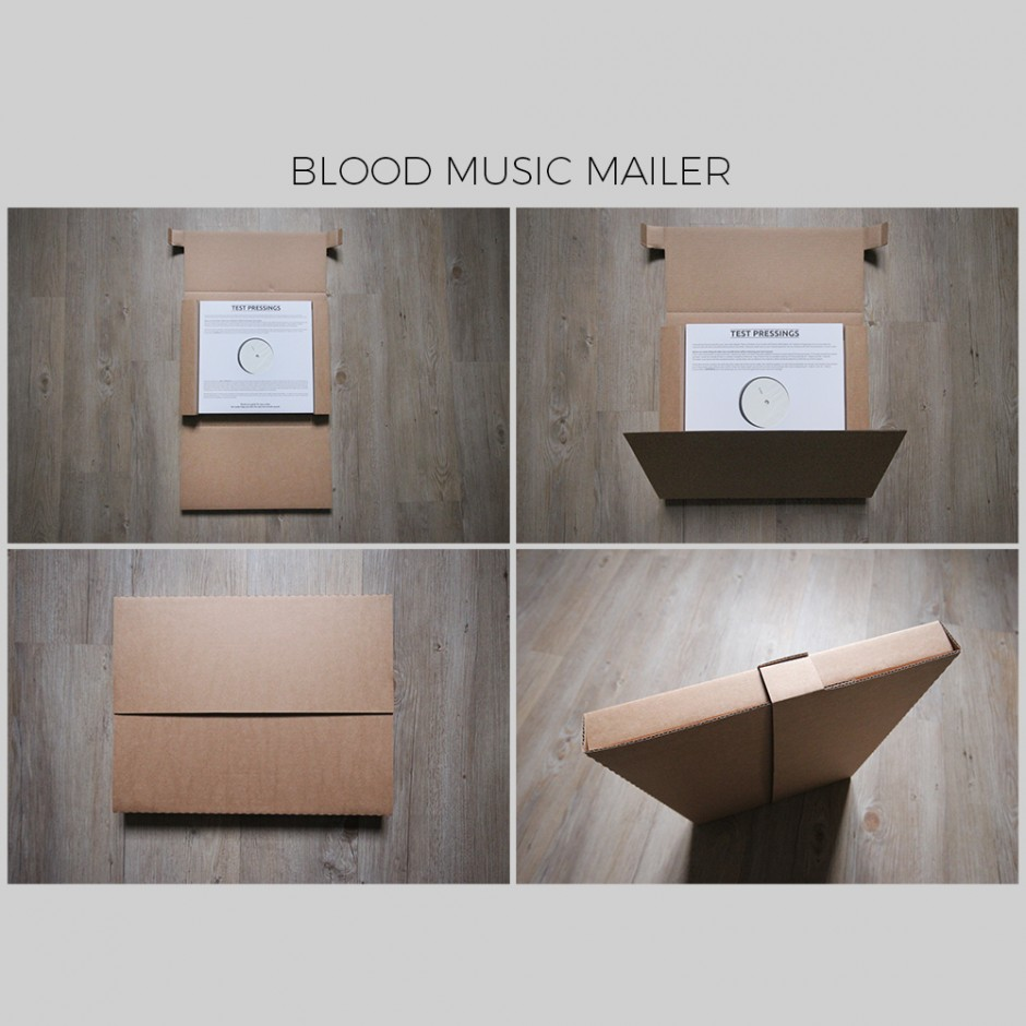 Blood Music LP Mailer (Bundle of 25)