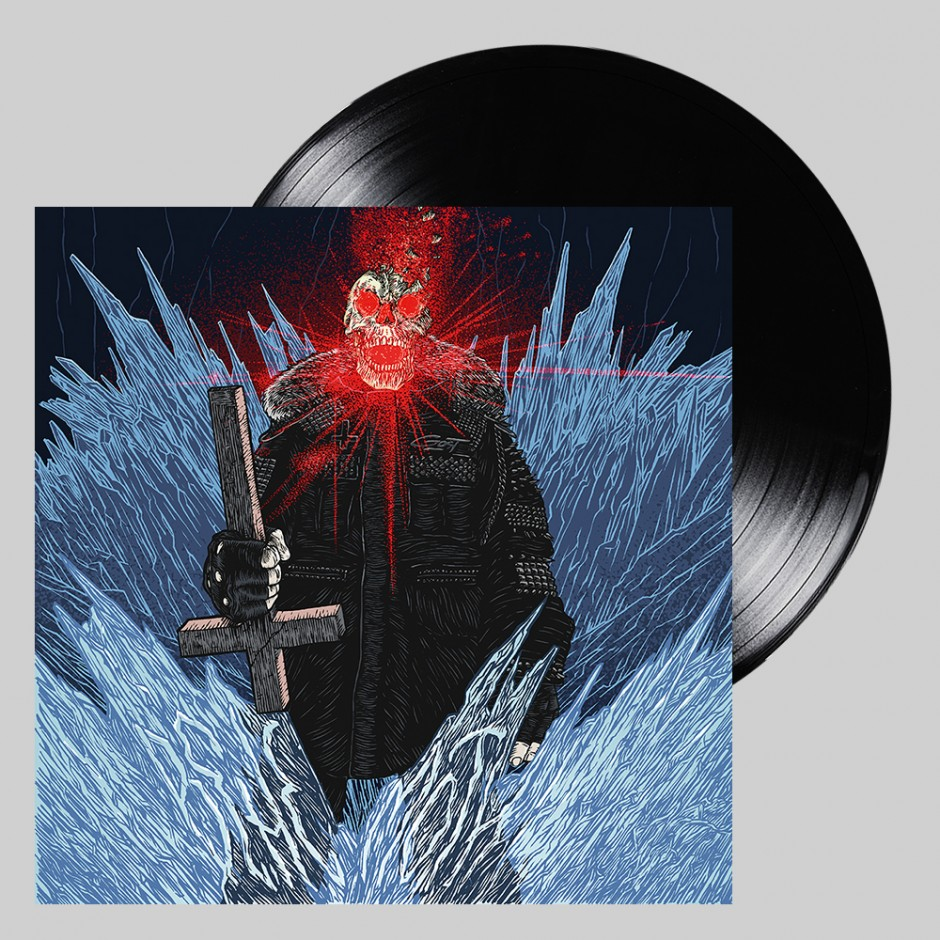 "GosT ""Behemoth"" BLACK LP"