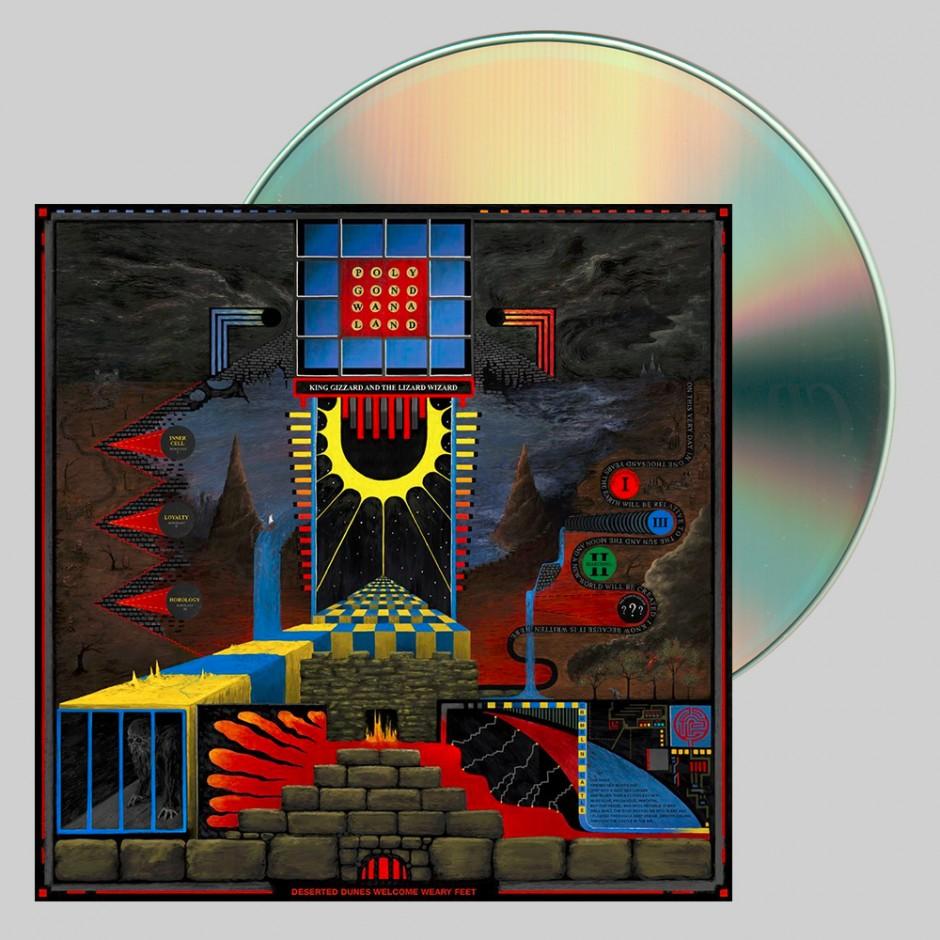 """King Gizzard & The Lizard Wizard """"Polygondwanaland"""" CD"""