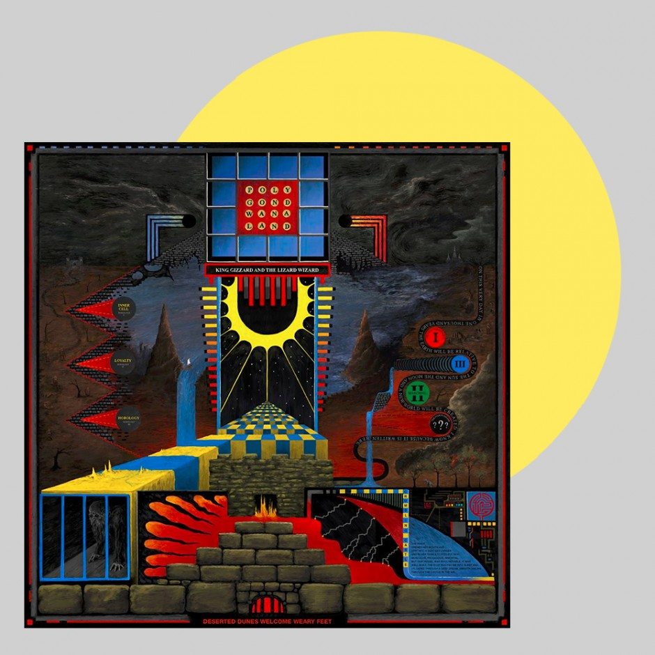 "King Gizzard & The Lizard Wizard ""Polygondwanaland"" LP"