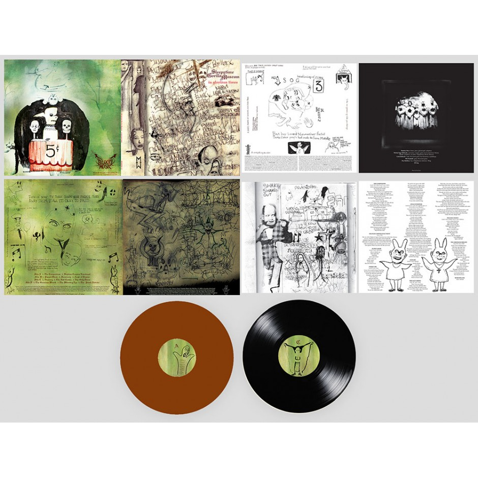 "Sleepytime Gorilla Museum ""In Glorious Times"" 2xLP REPRESS"
