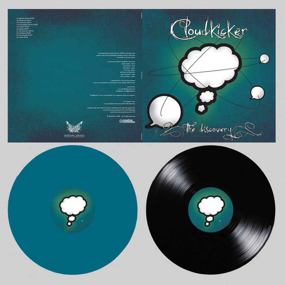 """Cloudkicker """"The Discovery"""" LP"""