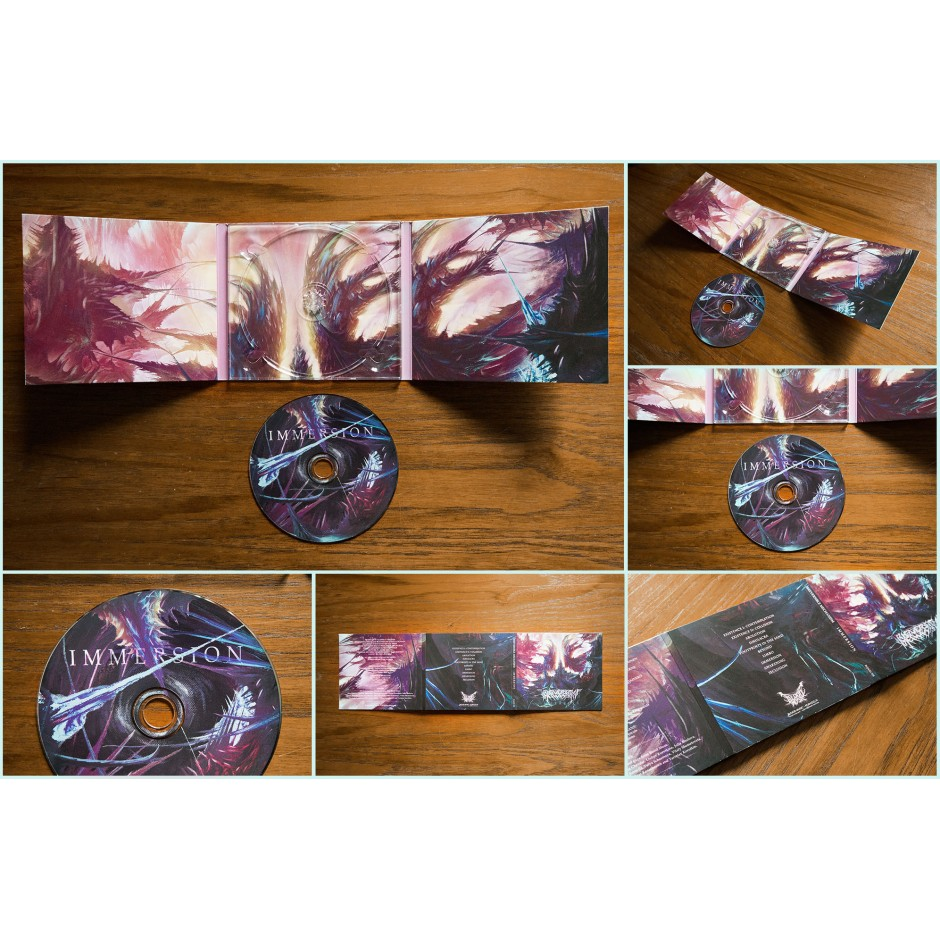 "Irreversible Mechanism ""Immersion"" CD"