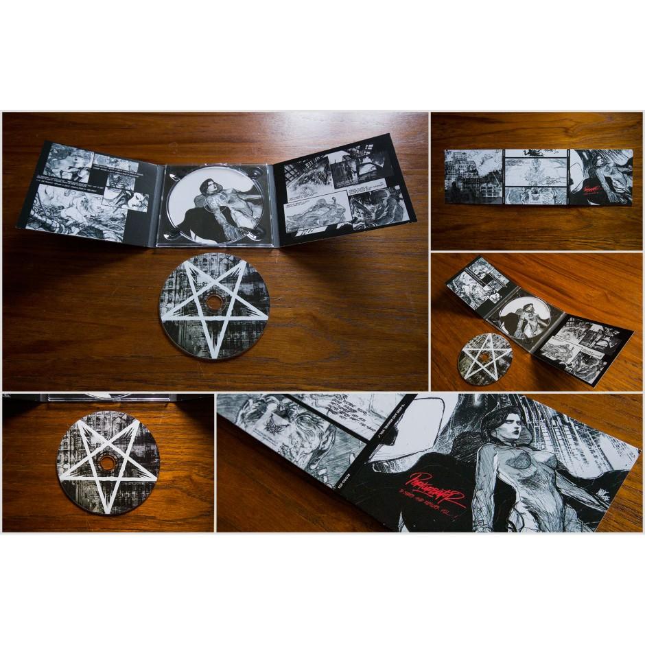 """Perturbator """"B-Sides and Remixes, Vol. I"""" CD"""