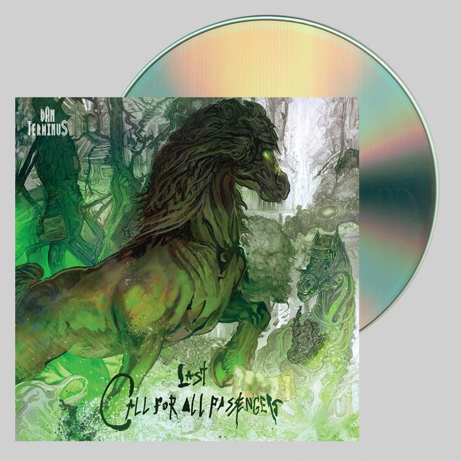 """Dan Terminus """"Last Call For All Passengers"""" CD"""