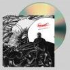 """Perturbator """"B-Sides and Remixes, Vol. II"""" CD"""