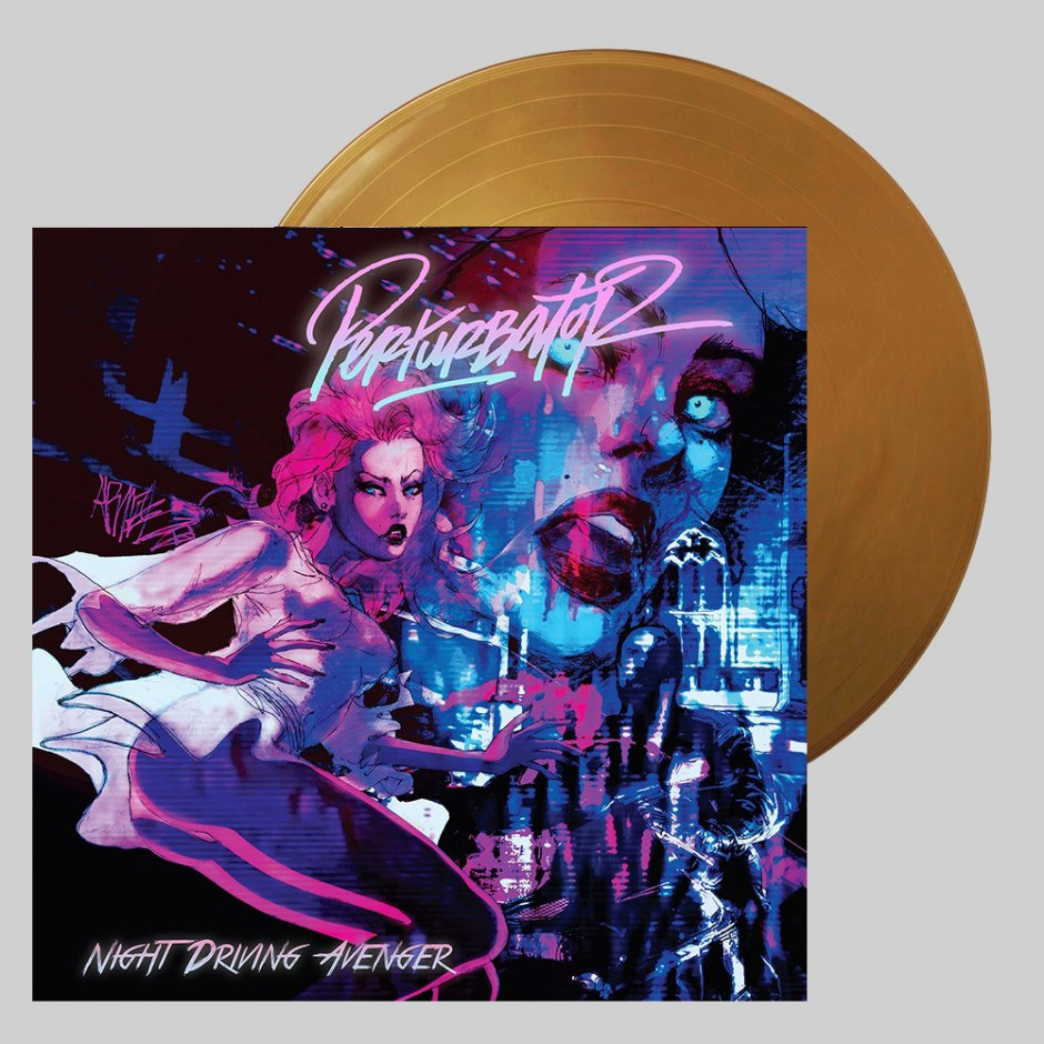 "Perturbator ""Night Driving Avenger"" LP"