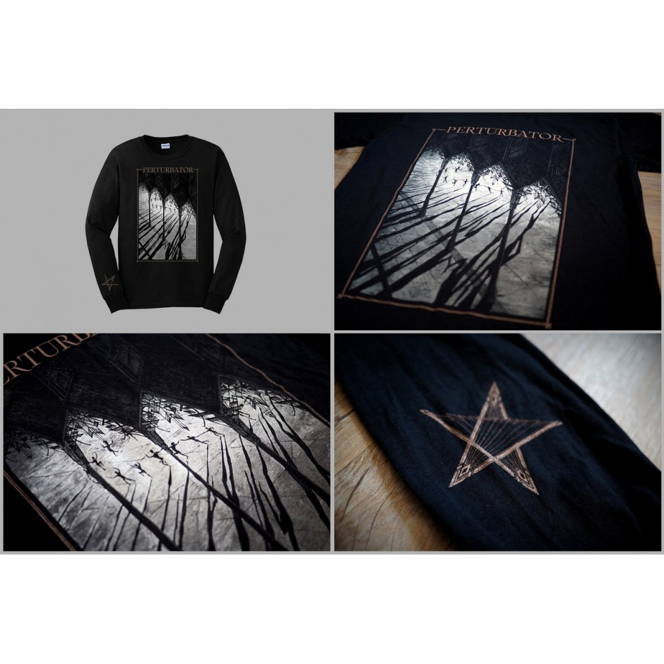 "Perturbator ""Lustful Sacraments"" Long-Sleeve Shirt"