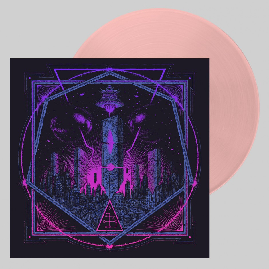 """Hollywood Burns """"The Age of the Saucers"""" LP"""