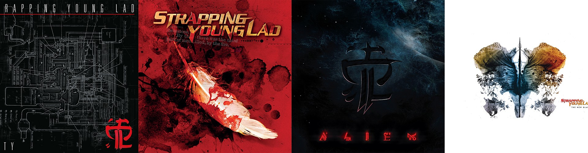 Strapping Young Lad represses