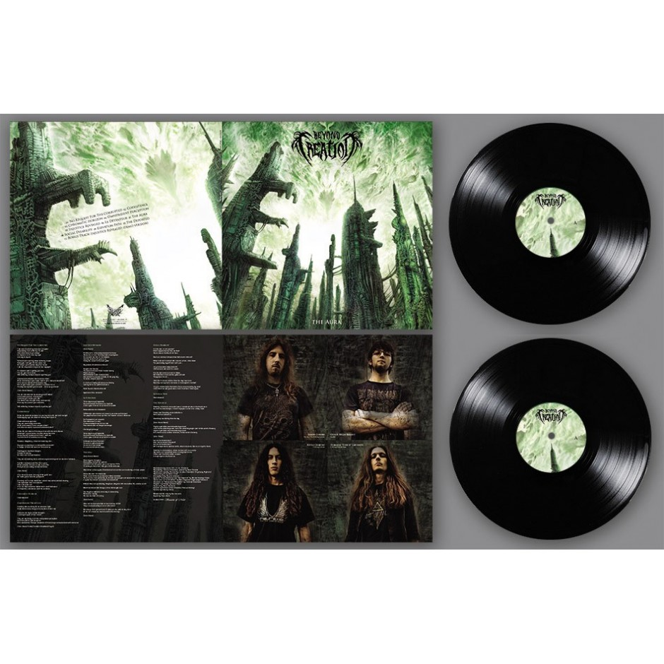 "Beyond Creation ""The Aura"" BLACK 2xLP"