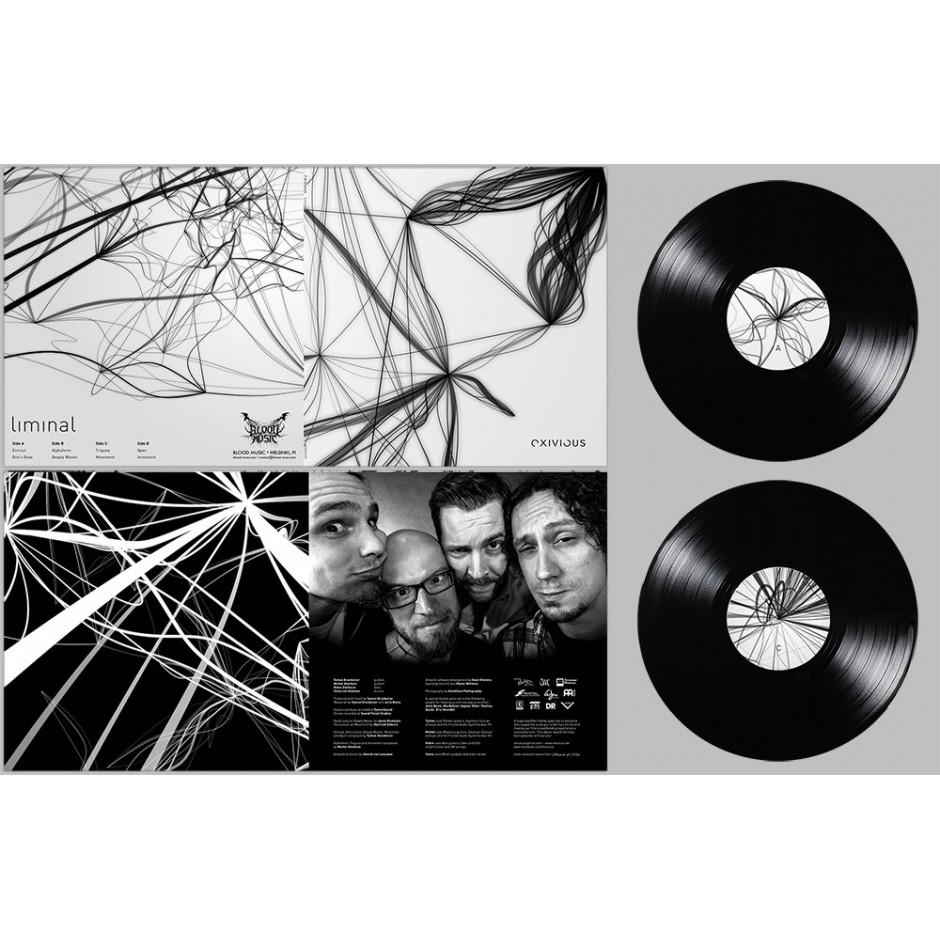 "Exivious ""Liminal"" BLACK 2xLP"