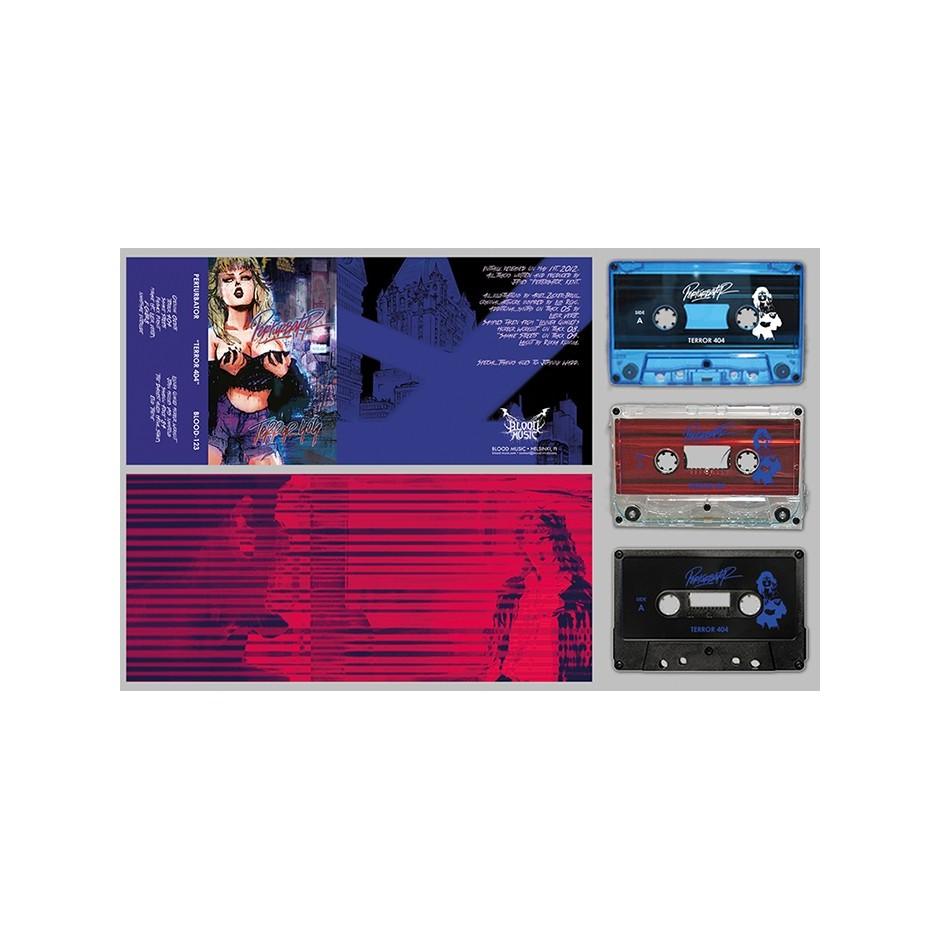 """Perturbator """"TERROR 404"""" Cassette"""
