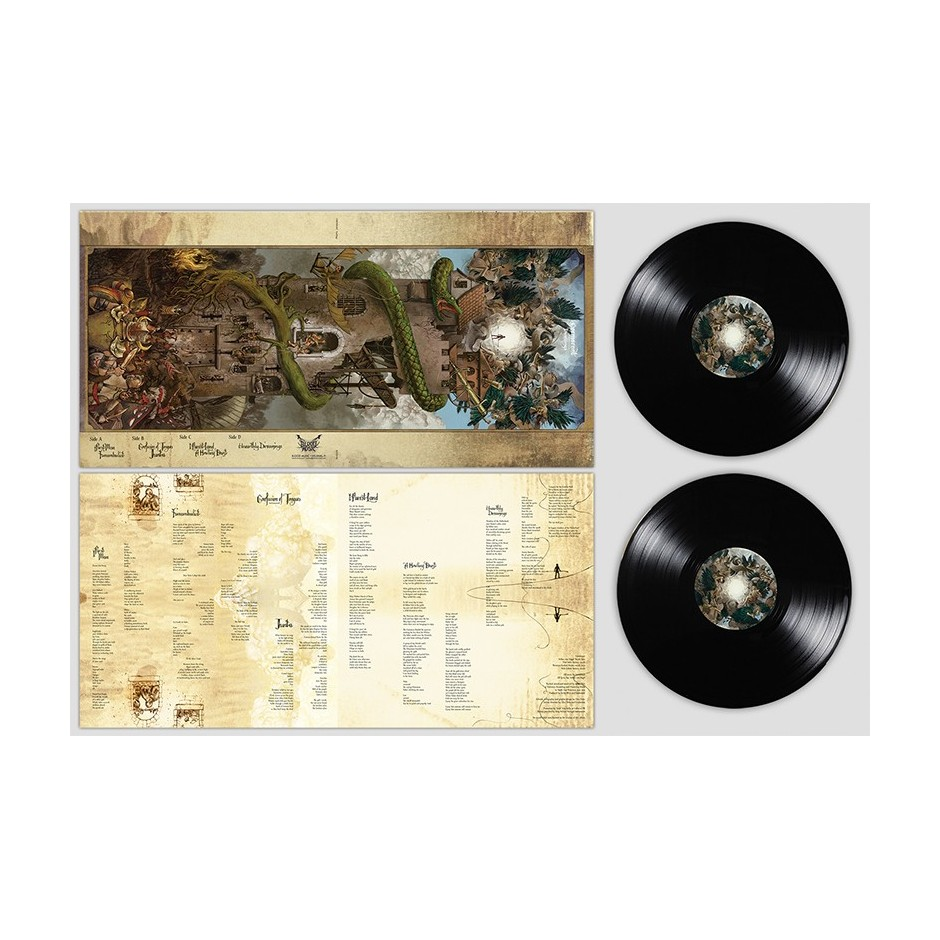 "Cormorant ""Dwellings"" BLACK 2xLP"