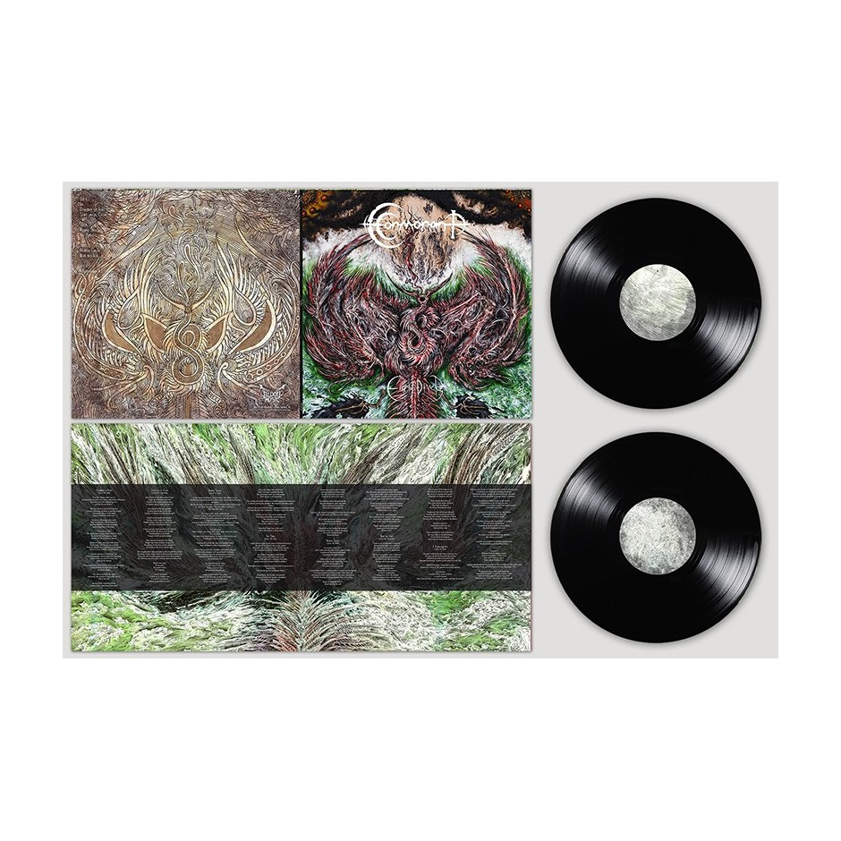 "Cormorant ""Earth Diver"" BLACK 2xLP"