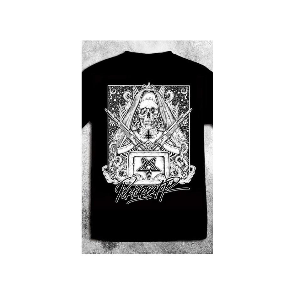 """Perturbator T-shirt - """"Diabolus Ex Machina"""""""