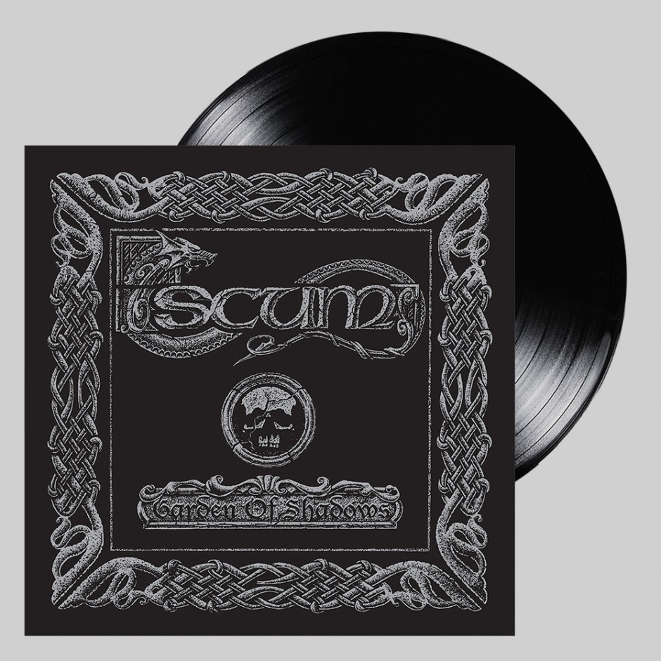 "Scum ""Garden of Shadows"" BLACK LP"
