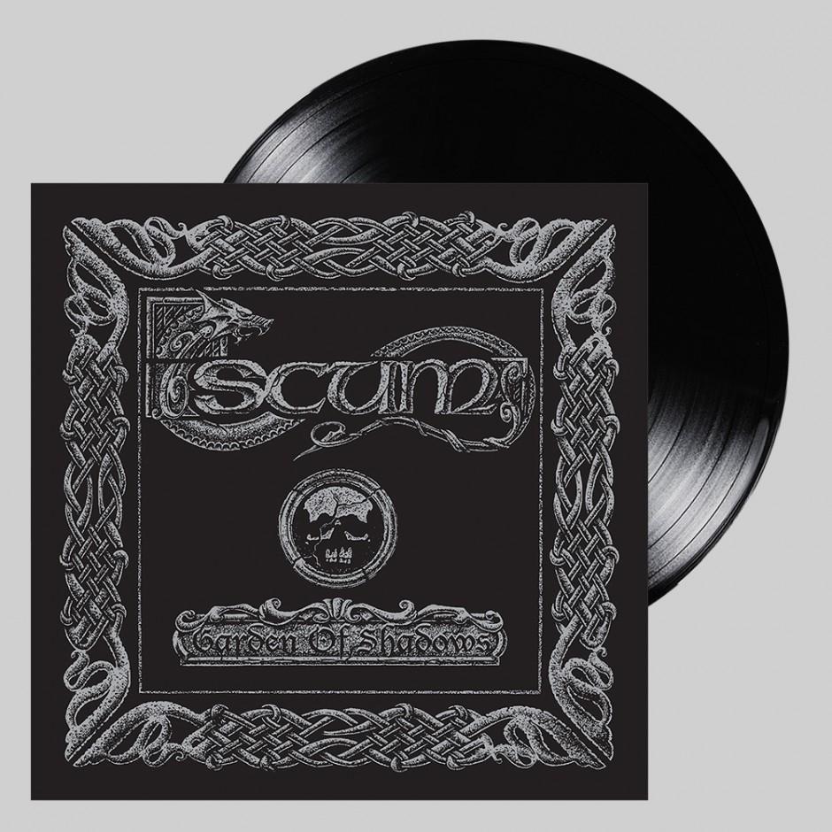 """Scum """"Garden of Shadows"""" BLACK LP"""
