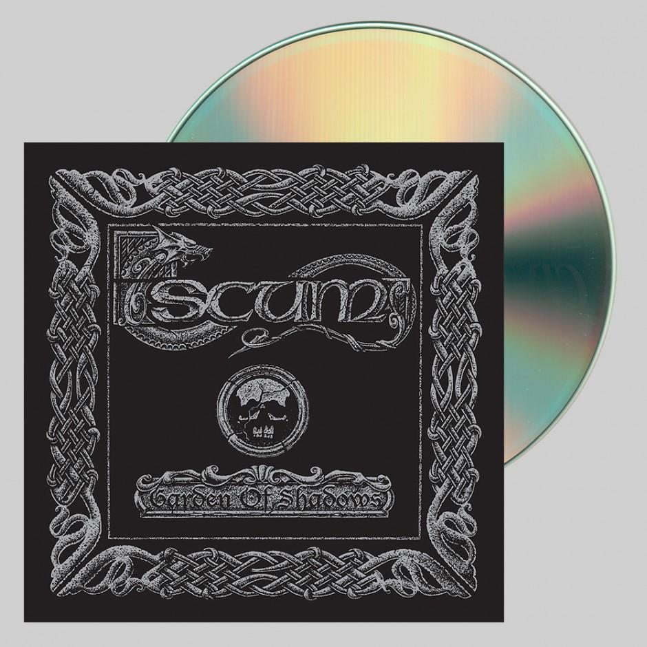 """Scum """"Garden of Shadows"""" CD"""