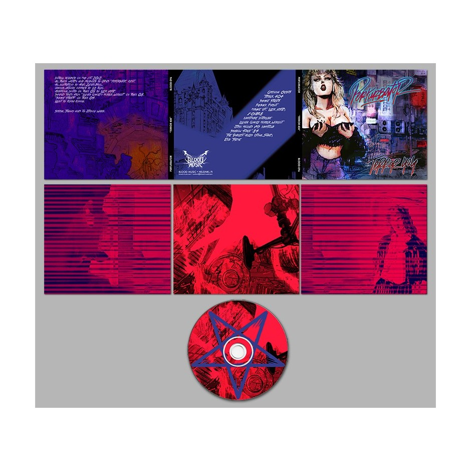 "Perturbator ""TERROR 404"" CD"