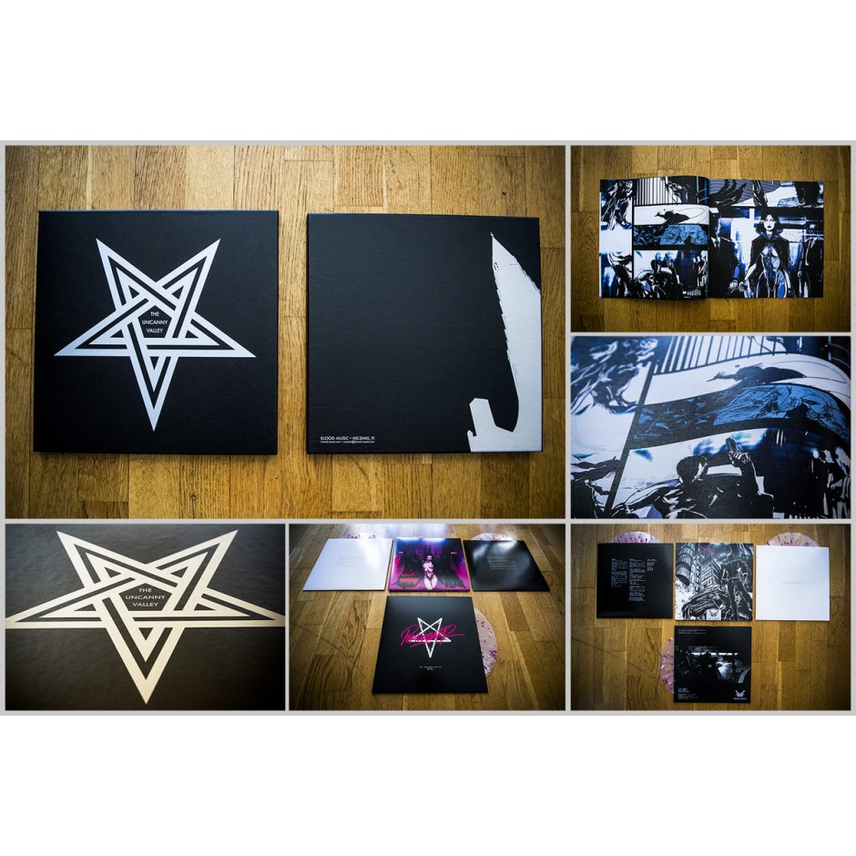 "Perturbator ""The Uncanny Valley"" BLACK 3xLP Box"