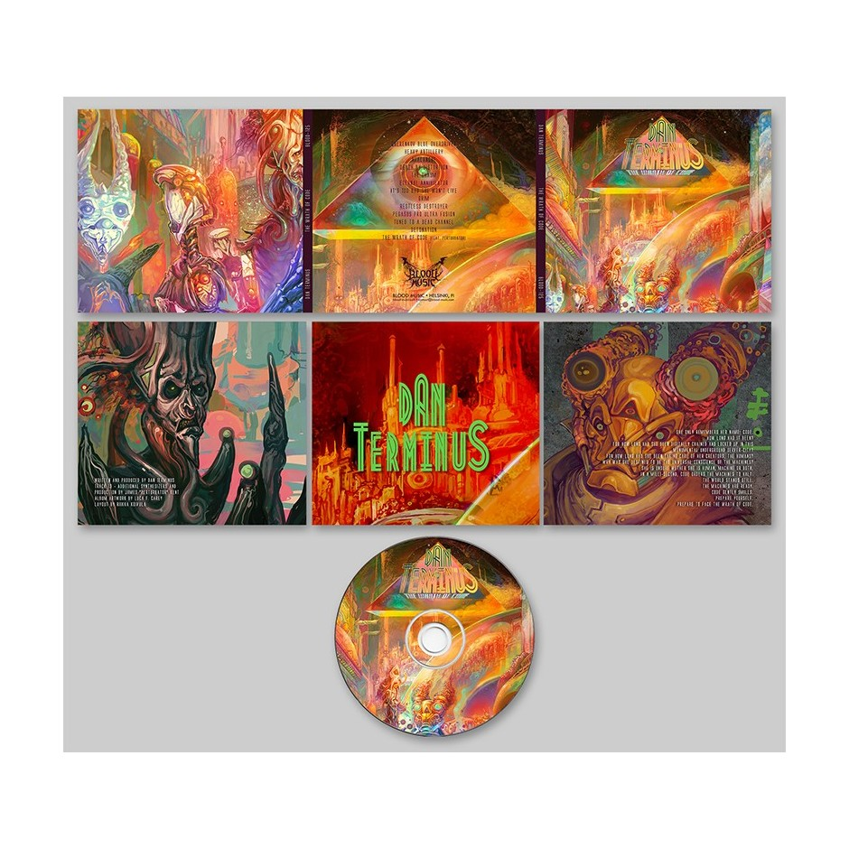 "Dan Terminus ""The Wrath of Code"" CD"
