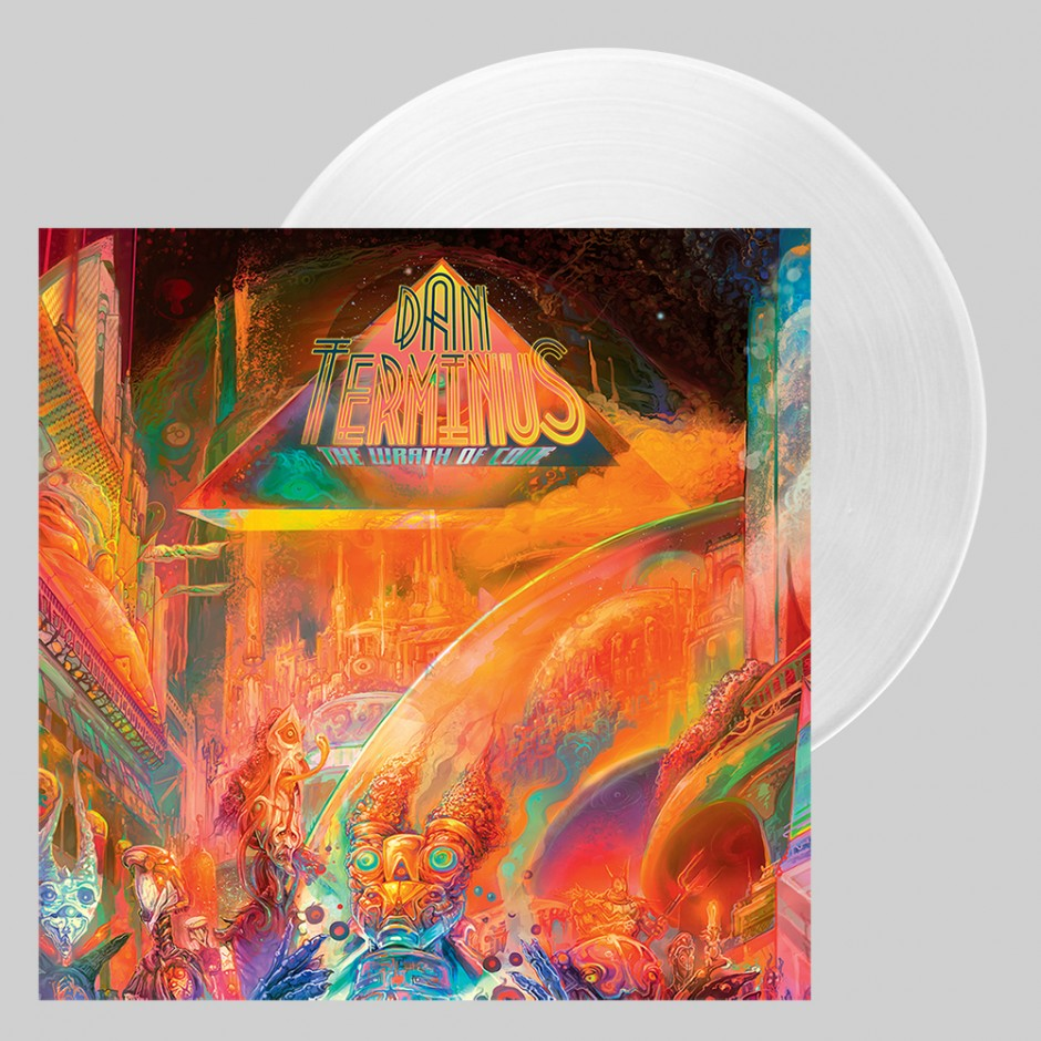 "Dan Terminus ""The Wrath of Code"" 2xLP REPRESS"